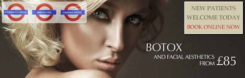 botox and facial cosmetics